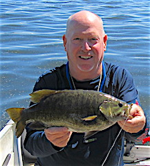 Best Smallmouth Fishing Ever at Fireside Lodge by Mark
